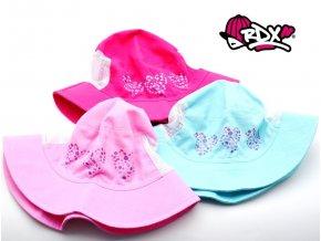 Dívčí klobouk RDX 7595 Srdíčka