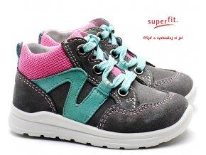 e03a77b8c87 Dětské boty SUPERFIT 4-00323-25 grau rosa