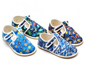 Dětské bačkory JONAP Barefoot chlapecké
