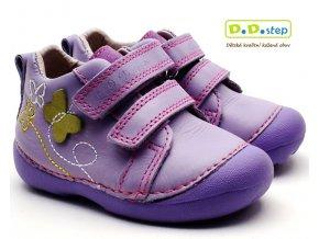 Dětské boty DDstep 015-166A fialkové