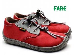 Dětské boty FARE BARE 5113241 cihlové