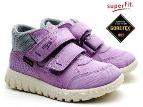 Dětské boty SUPERFIT 4-00193-90 lila grau a128c1cff5