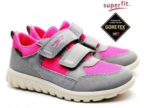 Dětské boty SUPERFIT 4-09190-25 grau/rosa