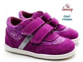 JONAP 051/SV Dětské boty Devon růžové