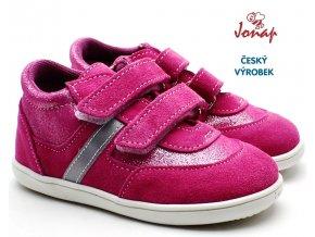 JONAP 051/SV Dětské boty Devon sv. růžové