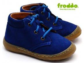 Dětské boty FRODDO G2130163-1 modré