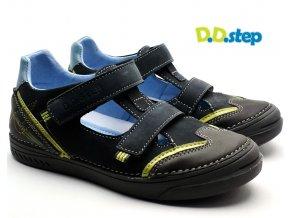 Dětské sandále DDstep 040-438B černé