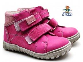 Dětské boty SÁZAVAN ESSI S 1946 růžové