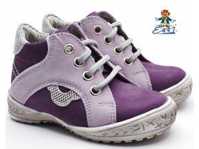 Dětské boty SÁZAVAN ESSI S 1901 fialové