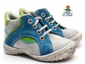 Dětské boty SÁZAVAN ESSI S 1901 modrošedé