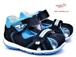 Dětské sandále SUPERFIT 4-09145-80 blau
