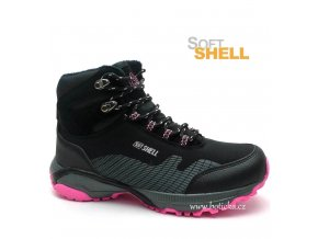EFFE TRE softshell obuv 16041 černé