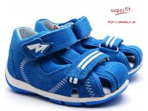 Dětské sandále SUPERFIT 4-09145-81 blau