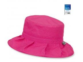 Dívčí klobouček STERNTALER 1431438 magenta