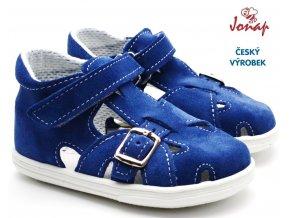 JONAP 009s Dětské sandále modré