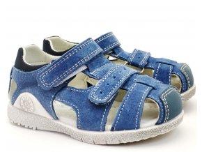 HAPPY BEE B139674 Dětské sandále modré