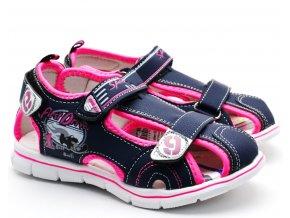 SPORT dětské sandále dívčí