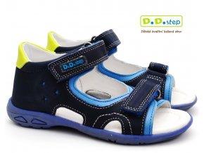 DDstep AC290-7031 dětské sandále modré
