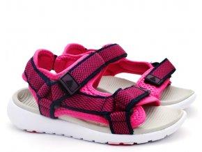 Dětské sandále Lanson L91/201-077 růžové