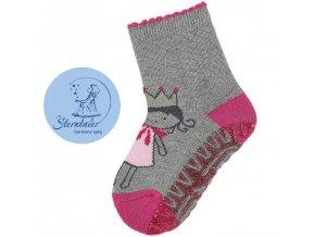 STERNTALER 8031912 Protiskluzové ponožky panenka