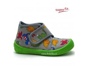 SUPERFIT bačkory 7-00253-07 stone multi