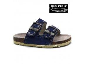 BIG FISH pantofle FS-513-13-02 modrá