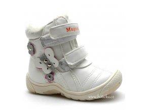 MAGNUS obuv zimní 46-0128 bílé