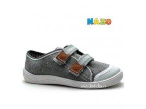 NAZO tenisky plátěné NA/032 CA šedé