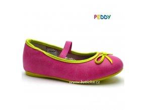 PEDDY baleríny PU5183501 růžové