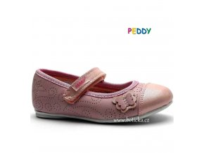 PEDDY baleríny PY6183501 růžové