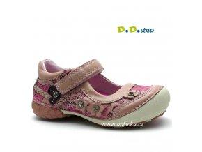 Dívčí baleríny DDStep 026-42 A růžové