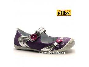 Dívčí balerínky HILBY F-4575-371 fialové