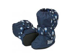 Voděodolné teplé boty STERNTALER modré