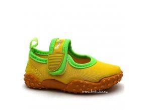 Boty do vody PLAYSHOES 174797 žluté