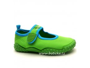 Boty do vody PLAYSHOES 174797 zelené