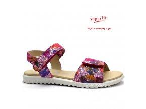 SUPERFIT sandále 0-00001-64 pink kombi
