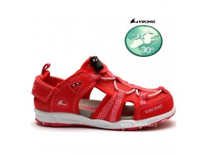 Dívčí sandále VIKING 3-45872 coral