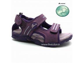 Dětské sandále VIKING 3-39660 purple