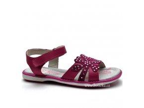 HAPPY BEE sandále B127524 růžové