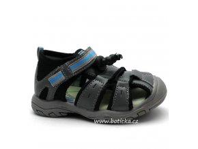 Dětské sandále MAGNUS 45-0051 šedé