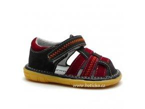 Dětské sandále MAGNUS 45-0194 červenohnědé