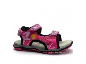 SLOBBY sandále 45-0280 dívčí