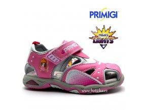 Blikající sandále PRIMIGI PAH 7286 rosa
