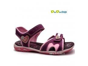 DDstep sandále AC290-52B růžové