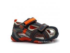 Sandále WINK K-SL4394 modrooranžové