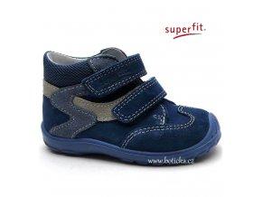 SUPERFIT obuv 6-00325-88 indigo kombi