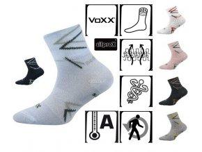 Ponožky VOXX MAIK širší lem