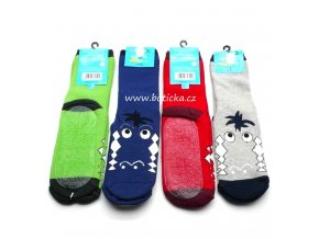 Protiskluzové ponožky silikon Socks 4 fun mix