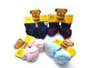 RS kojenecké ponožky teplé protiskluz