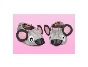 Návleky na boty BABYGALOŠE - myška